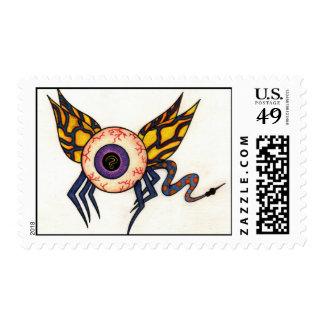 Flying Eyeball US 46 cent stamp