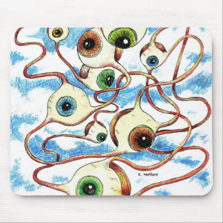 """Flying Eye's"" Mouse Pad"