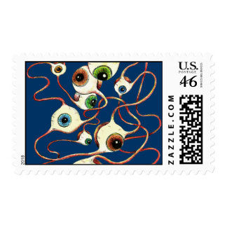Flying Eye's Postage Stamps