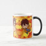 Flying fairies 11 oz magic heat Color-Changing coffee mug