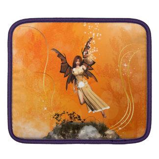 Flying fairy iPad sleeves