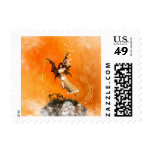 Flying fairy postage stamps