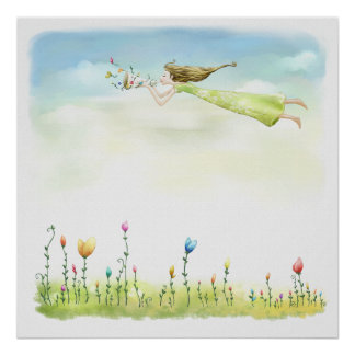 flying fairy poster