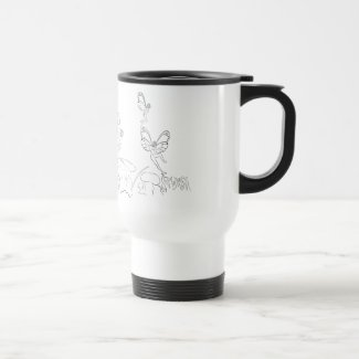 Flying Fairys… Travel Mug