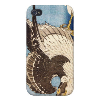 Flying Falcon, Hokusai iPhone 4 Cover