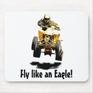 Flying Fast Mouse Pad