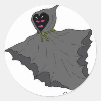 Flying fiend sticker
