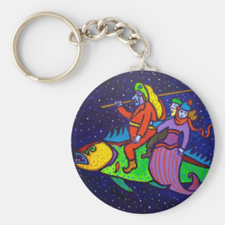 Flying Fish by Piliero Keychain