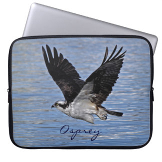 Flying Fish Eagle Osprey Nature Photograph Computer Sleeve