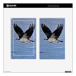 Flying Fish Eagle Osprey Nature Photograph Decal For Kindle Fire