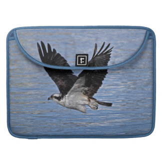 Flying Fish Eagle Osprey Nature Photograph Sleeve For MacBooks