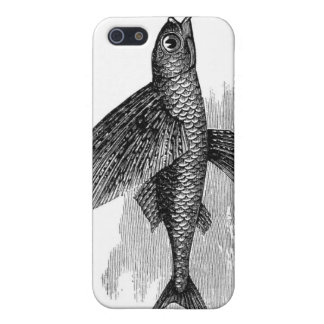 Flying fish iPhone case. Scientific illustration Cover For iPhone SE/5/5s