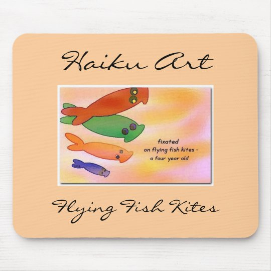 Flying Fish Kites Mouse Pad
