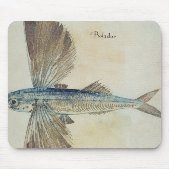Flying-Fish Mouse Pad
