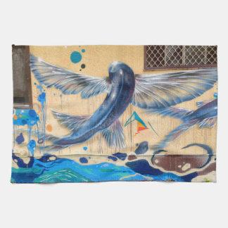 Flying Fish No.1 Hand Towel