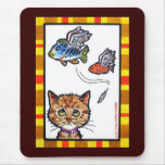 Flying Fishes Mouse Pad