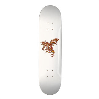 Flying Flame Dragon Skate Board Deck