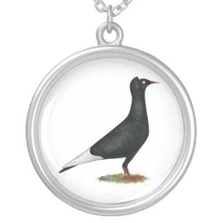 Flying Flight Black Cap Necklace