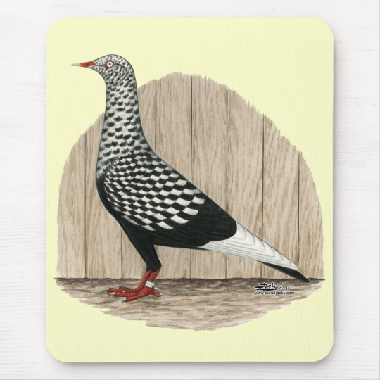 Flying Flight Black Teager Mouse Pad