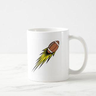 Flying Football Mugs