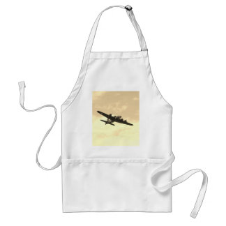Flying Fortress In Flight Adult Apron