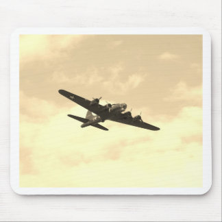 Flying Fortress In Flight Mouse Pad