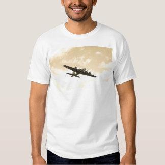 Flying Fortress In Flight T Shirt