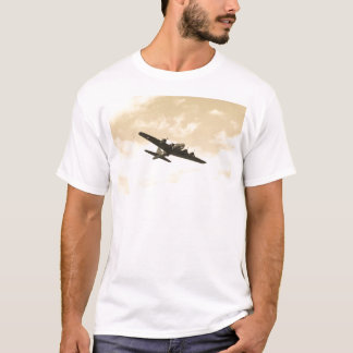 Flying Fortress In Flight T-Shirt