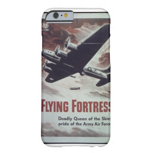 Flying_Fortress-_-_NARA_Propaganda Poster Barely There iPhone 6 Case