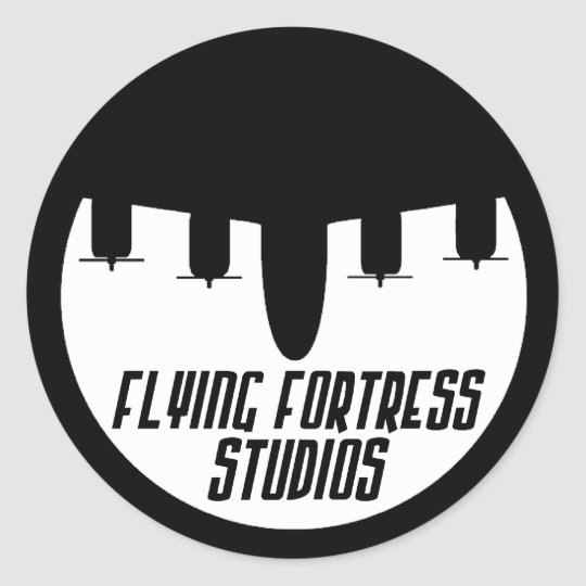 Flying Fortress Studios Classic Round Sticker