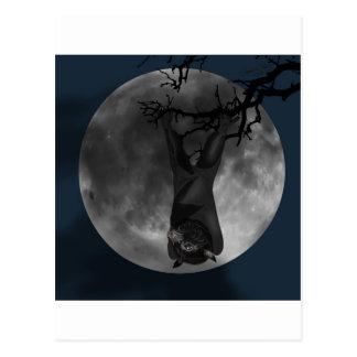 Flying Fox Bat Postcard