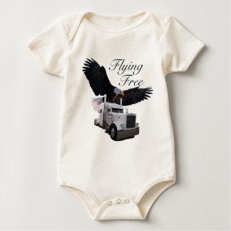 Flying Free Baby Bodysuit