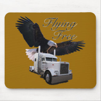 Flying Free Mouse Pad