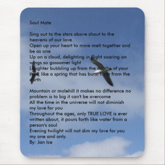 Flying Free, Soul MateSing out to the stars abo... Mouse Pad