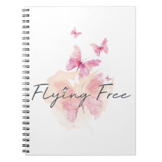 Flying Free Spiral Journal