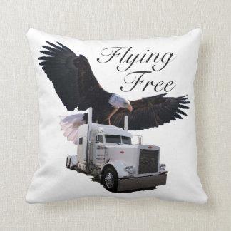 Flying Free Trucker's Pillow