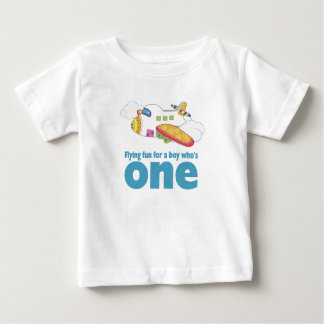 Flying Fun for a Boy Who's 1 Tee Shirt