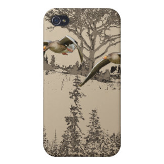 Flying Geese 4 iPhone 4/4S Covers