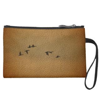 Flying Geese Bag Wristlet Purse