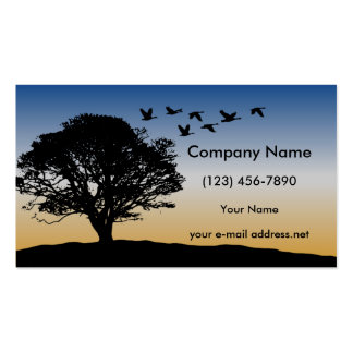 Flying Geese Business Card