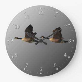 Flying Geese Large Clock