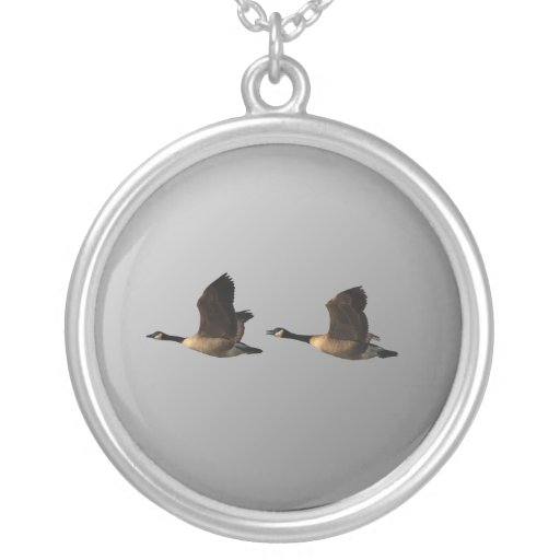 Flying Geese Love Necklace