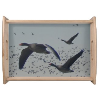 Flying Geese Serving Tray