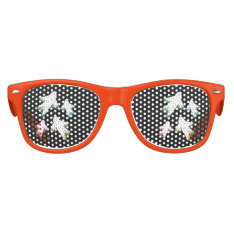 Flying Ghosts Halloween Party Kids Sunglasses at Zazzle