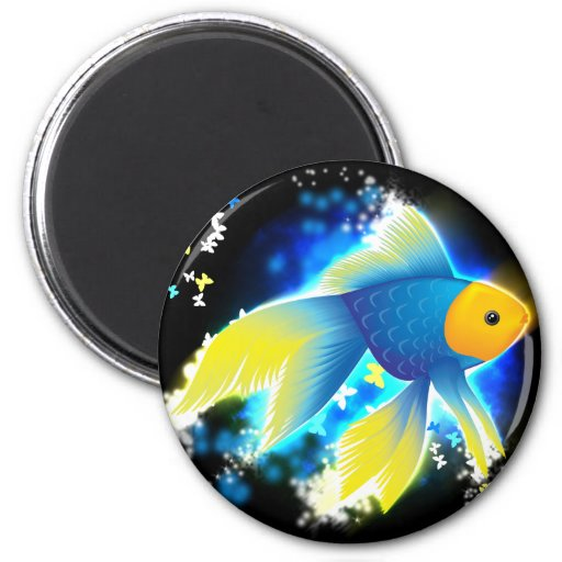 Flying Goldfish Magnets