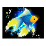 Flying Goldfish Post Card