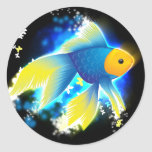 Flying Goldfish Stickers