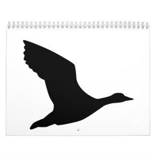 Flying goose calendar