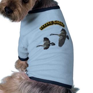 Flying Goose Doggie Tshirt