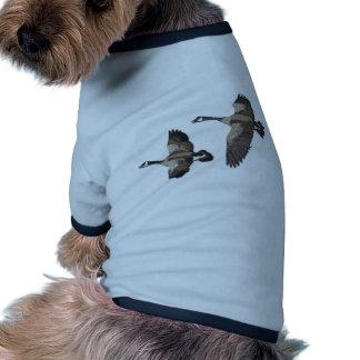 Flying Goose-No Text Doggie Tshirt